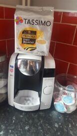 coffee machine with pods