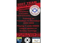 players wanted for new team