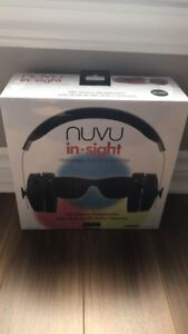 Nuvu in sight personal theatre system