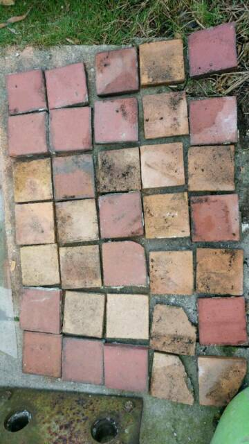 Victorian quarry terracotta red clay tiles slabs | in Bridgend | Gumtree