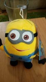 Despicable me soft window toy