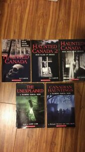 Haunted Canada books