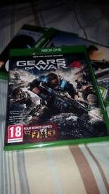 Gears of war 4 with all 4 gears game codes