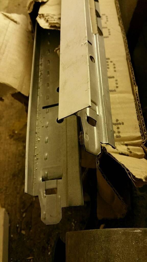NEW Suspended Ceiling Component T beam white matt 3000 mm Cross Tee