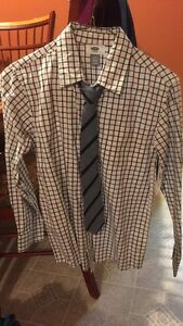 Boys shirt and tie