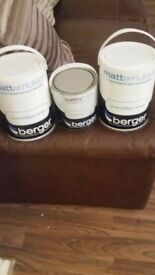 berget matt emulsion and satin finish