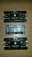 VINTAGE MARX MODEL TRAIN CONTROL PANEL - 3 in total