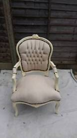 French Louise occasional armchair adult size
