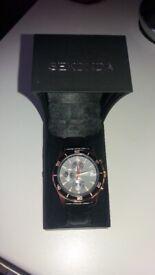 Mens Sekonda Night Fall Chronograph Rose Gold Watch.