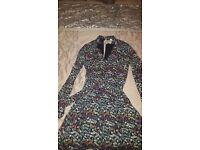Long sleeved floral H&M dress- never worn