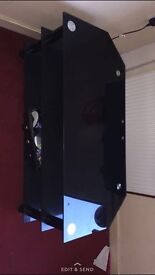 Black glass tv stand 800mm I think need gone asap