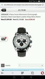 New Versace VDB01 0014 mens luxury watch