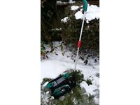 Bosch Isio garden telescopic pole and shears set - purchased summer 2017
