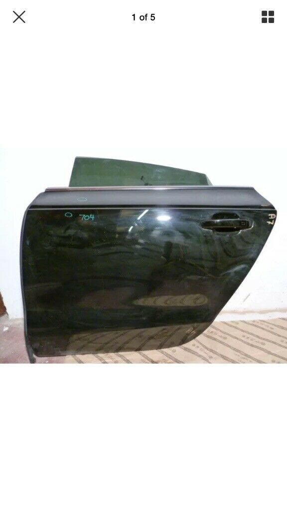 2011-2016 AUDI A7 REAR PASSENGER SIDE DOOR COMPLETE WITH GLASS