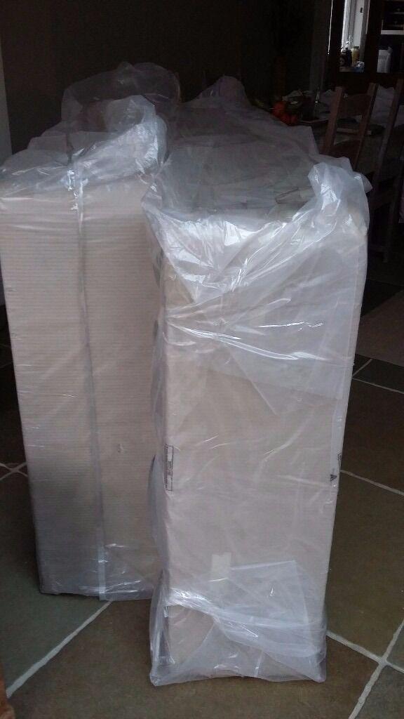 Brand new super king size platform top divan base still in packaging