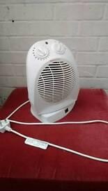 Fan heater oscilating