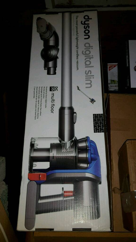 DYSON CORDLESS DC35 ANIMAL HOOVER VACUUM CLEANER