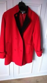 Kesta London wool & cashmere jacket size 16