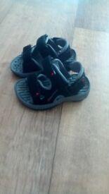 Infant size 4 boys sandals