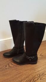 New look boots size 6 - only worn once