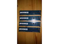 Hynix Memory 8GB (4x2GB) DDR3 1600 MHz PC3-12800 CL1DIMM HMT325U6CFR8C-PB
