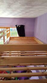 Single Platform Bed for child