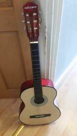 Play On 3/4 Classical Wooden Guitar good condition and fully working