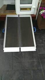 Portable disability access ramp
