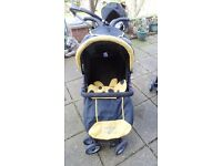 city bug petite star pushchair