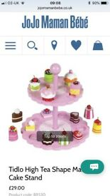 Toy cake stand