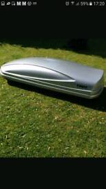 Car roof box for hire/rent only