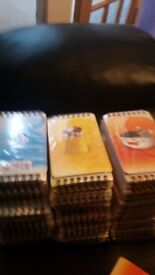 Animal picture cover note books