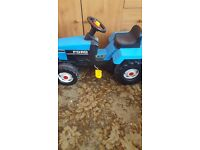 Childs peddle tractor