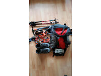 Hillwalking Quality Equip, Boots, Crampons,Rucksack,Compass, Ice axe, Poles, Goggles and More