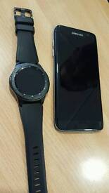 Samsung edge 7 and samsung s3 gear frontier