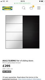 Ikea sliding wardrobe doors
