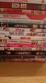 Joblot dvds
