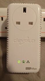 Devolo dLAN 500 AVplus 500 Mbps Ethernet Powerline Adapter