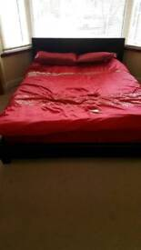 Two king size beds for sale
