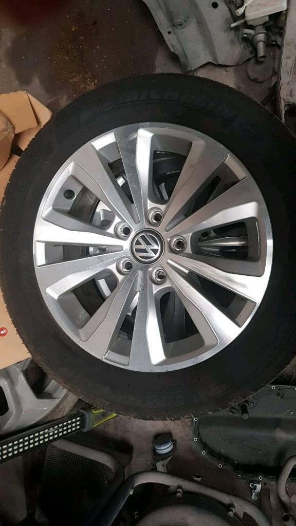 Vw Golf MK7 Alloys Wheels