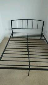 Urgent double bed frame for sale