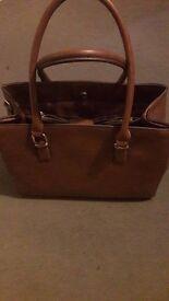 tan/brown new look handbag