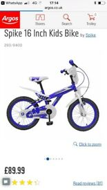 Childs BMX/Motorcross Style Bike