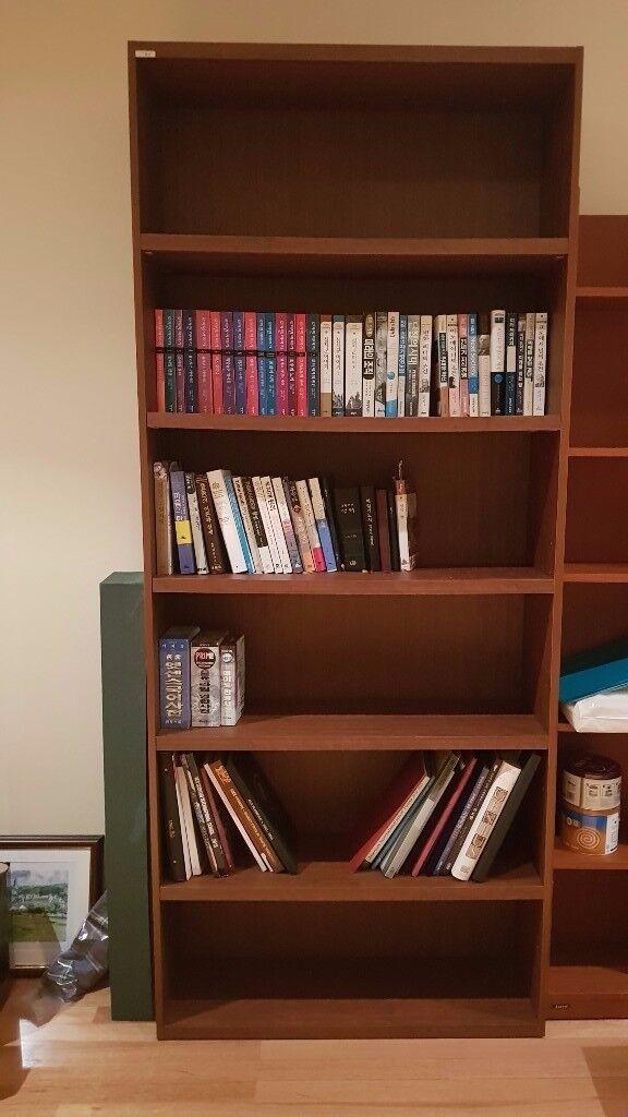 Wooden Bookshelf / Bookcase