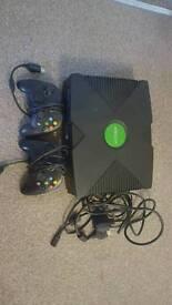 Original xbox with games