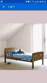 OAK EFFECT JUNIOR BED FRAME