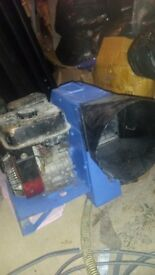 portable ventilator petrol engine start and fully working