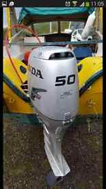 50hp Honda 4 stroke engine/boat/ trailor