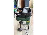 Atco electric shredder for garden waste