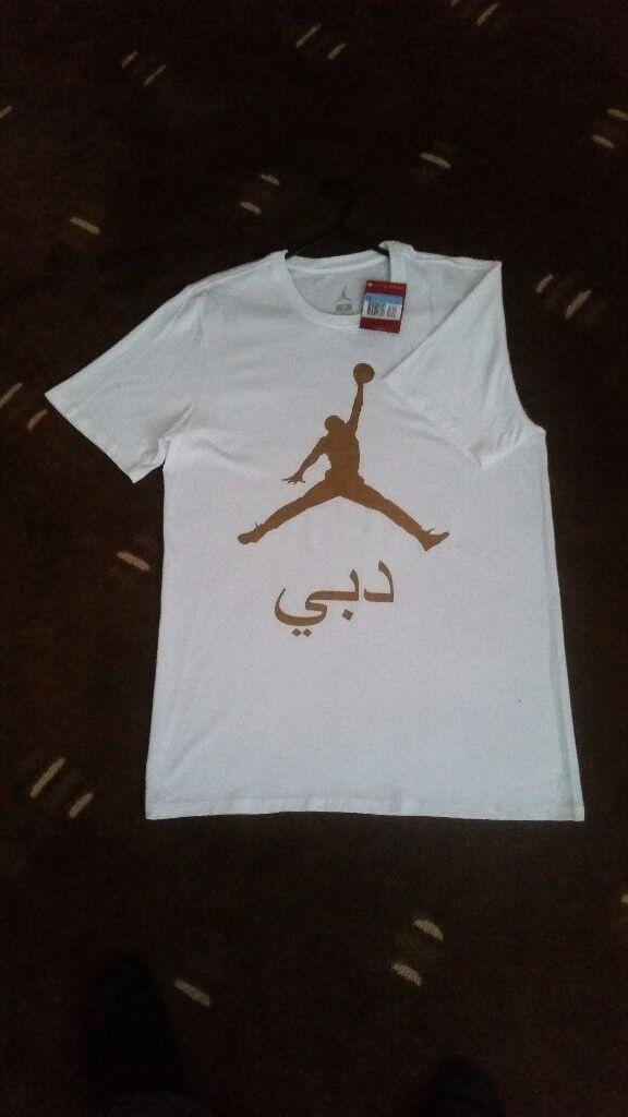 *Original New Jordan City Dubai Unisex T shirt Exclusive (Size M)*